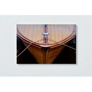 Boat Motif Magnetic Wall Mounted Cork Board By Ebern Designs