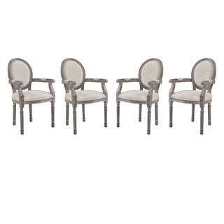 Alina Upholstered Dining Chair (Set of 4) by Ophelia & Co. SKU:DB955611 Price Compare