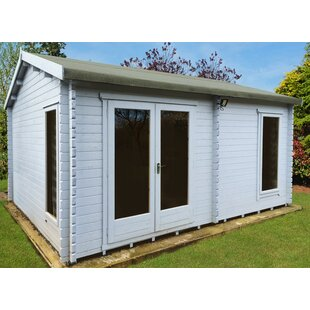 Pletcher 16.5 X 13.5 Ft. Tongue & Groove Log Cabin By Sol 72 Outdoor