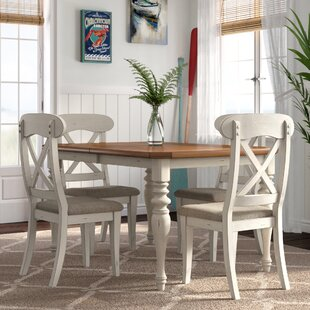 Bridgeview 5 Piece Dining Set by Beachcrest Home Best