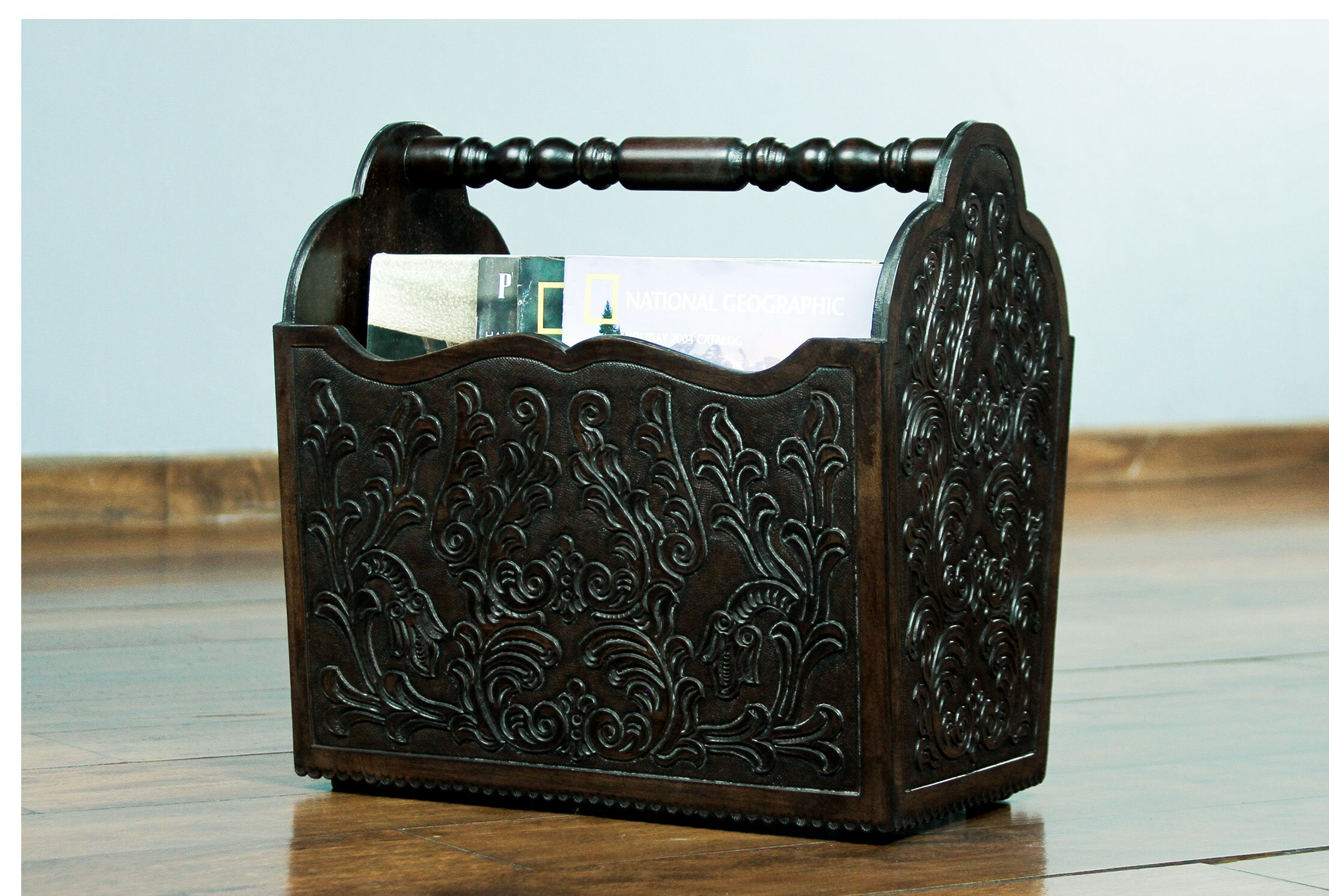 Global Inspired Leather Faux Leather Magazine Racks You Ll Love In 2021 Wayfair