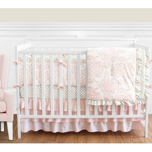 Amelia 9 Piece Crib Bedding Set
