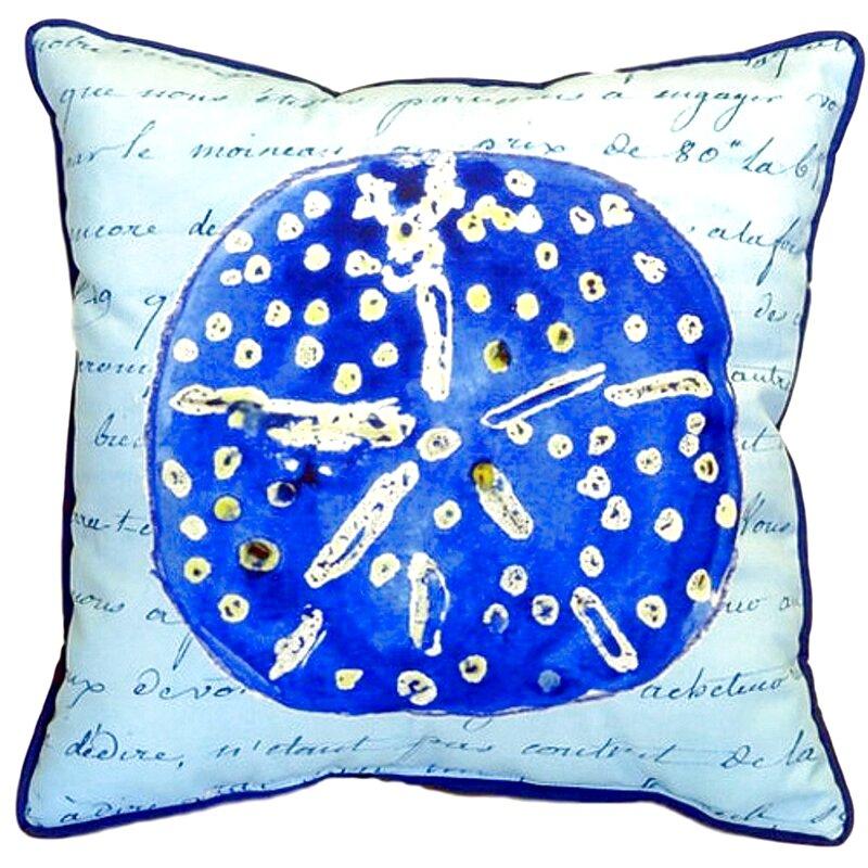 Highland Dunes Liesel Sand Dollar Indoor Outdoor Euro Pillow Cover Reviews Wayfair