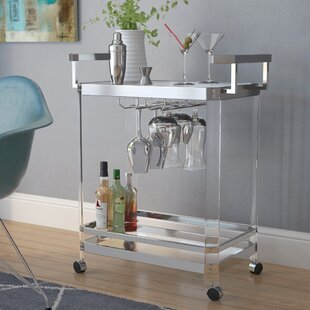 Wade Logan Bales Server Bar Cart