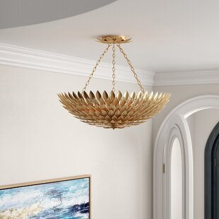Rochelle 8-Light Semi Flush Mount by Willa Arlo Interiors