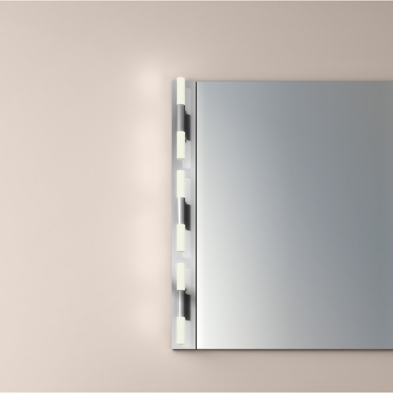 Sonneman Crystal Rods 6-Light LED Bath Bar