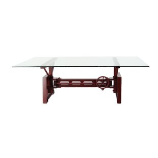 Best Reviews Kushner Industrial Rectangular Mechanical Coffee Table By Williston Forge