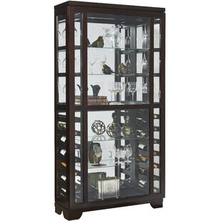 Genial Damon 14 Bottle Floor Wine Cabinet