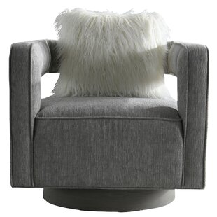 Bianca Swivel Armchair By Rosdorf Park