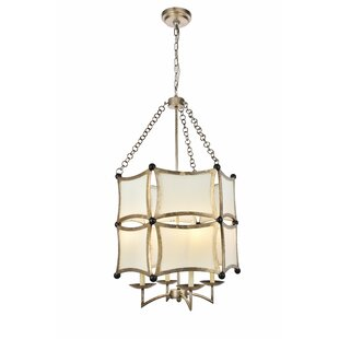 Latitude Run Sterner 4-Light Lantern Chandelier