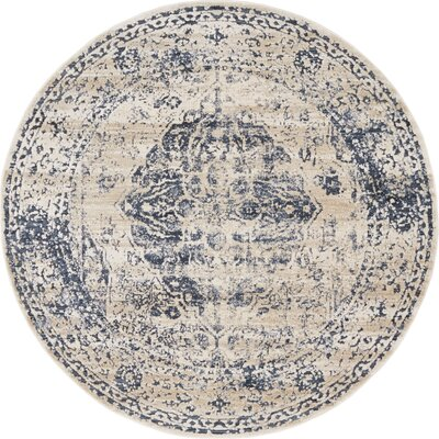 Blue Round Rugs You Ll Love In 2019 Wayfair