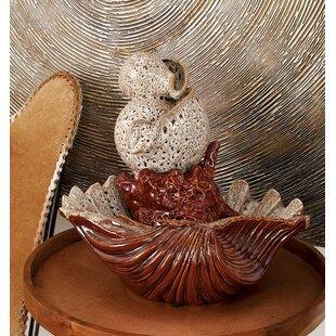 Cole & Grey Ceramic Fountain