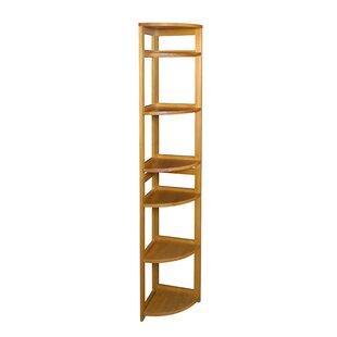 Compare & Buy Flip Flop Folding Corner Unit Bookcase ByRegency