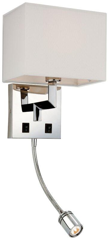 firstlight wandleuchte 2 flammig lex bewertungen. Black Bedroom Furniture Sets. Home Design Ideas