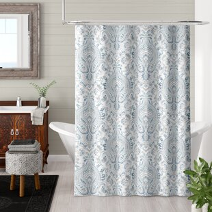 Price Check Bengtson 100% Cotton Shower Curtain ByBungalow Rose