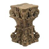 Aidaly Solid Wood Accent Stool by Bloomsbury Market