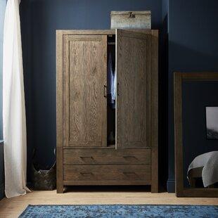 Caserta 2 Door Wardrobe By Ebern Designs