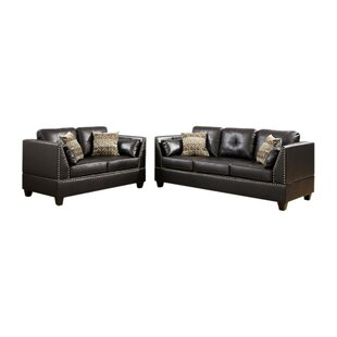 Lahiff 2 Piece Living Room Set by Red Barrel Studio