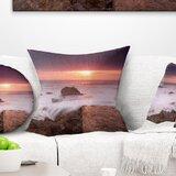 Brown Nautical Beach Throw Pillows You Ll Love In 2021 Wayfair