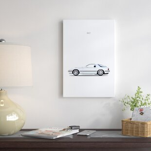 '1988 Mazda RX7' Graphic Art Print on Canvas ByEast Urban Home