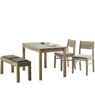 Deangelis Wood Bench By Natur Pur