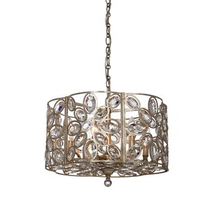 House of Hampton Rhode 6-Light Crystal Chandelier