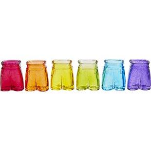 Mans Pants 1.35 oz. Shot Glass (Set of 6)