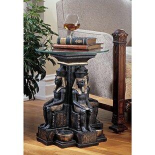 Design Toscano Ramses II Egyptian Sculptural End Table