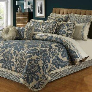 Waldo 6 Piece Lux Jacquard Comforter Set