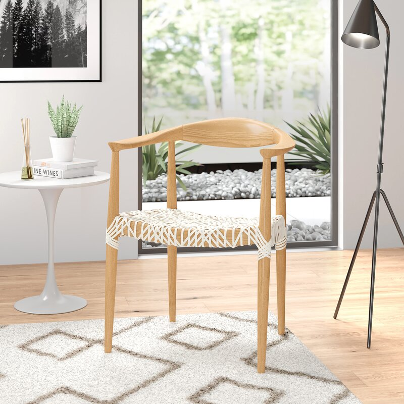 Archer Solid Wood Arm Chair
