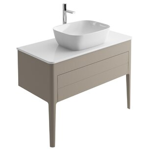 Doyon 100cm Free-Standing Vanity Unit Base By Ebern Designs