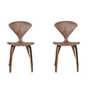 Adelina Solid Wood Dining Chair by Corrig..