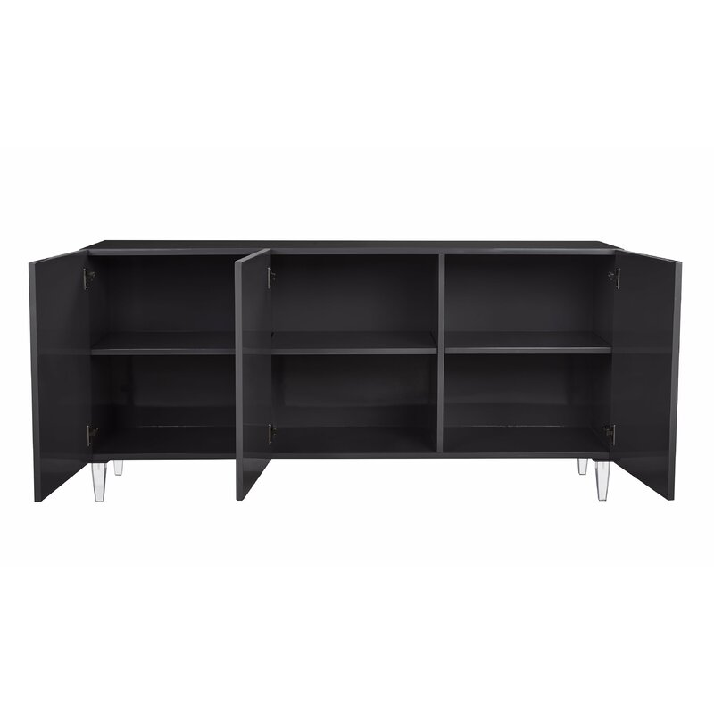 Charmant Trish Lacquer Buffet Table