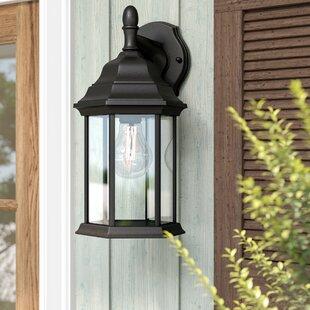 Anka 1-Light Outdoor Wall Lantern by Alcott Hill