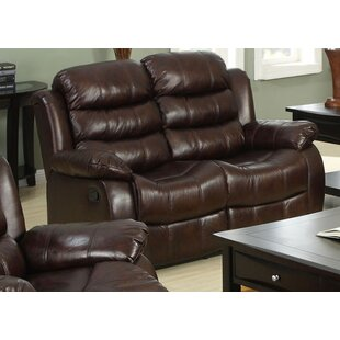 Homes Recliner Loveseat Red Barrel Studio