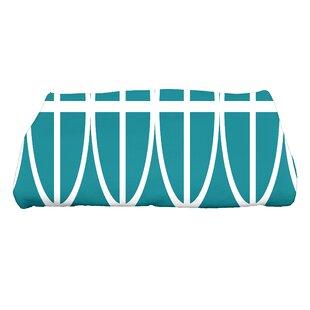 Sailer Ovals and Stripes Print Bath Towel
