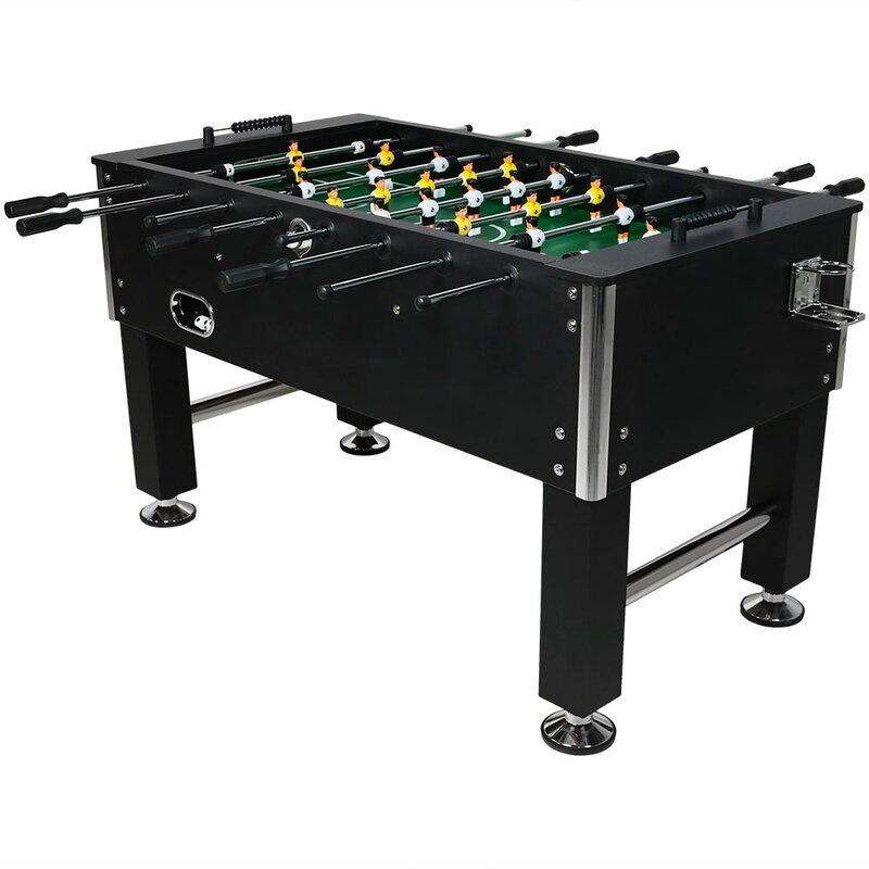 Foosball Game Table With Drink Holders