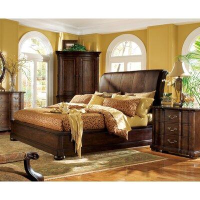 Belmont Upholstered Sleigh Bed Bernhardt