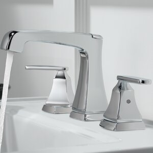 Ashlyn Mini-Widespread Double Handle Bathroom Faucet with Drain Assembly and Diamond Seal Technology