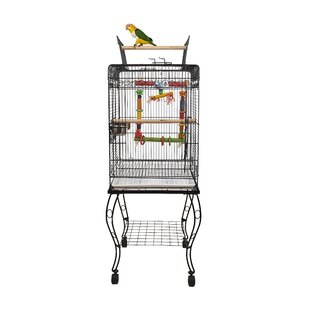 Gama Bird Cage with Removable Tray by Liberta