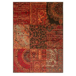 Hamish Red Brown Rug