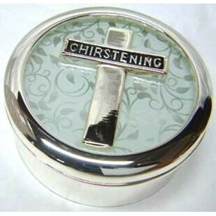 Great choice Christening Trinket Metal Box By Heim Concept