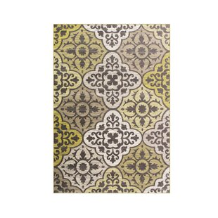 Jack Yellow Area Rug by Charlton Home