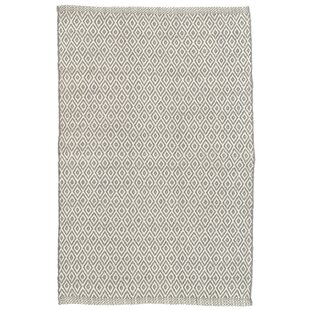 Crystal Gray/White Indoor/Outdoor Area Rug