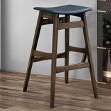 Olaughlin Mid-Century Angled Bar Stool (Set of 2) by Union Rustic