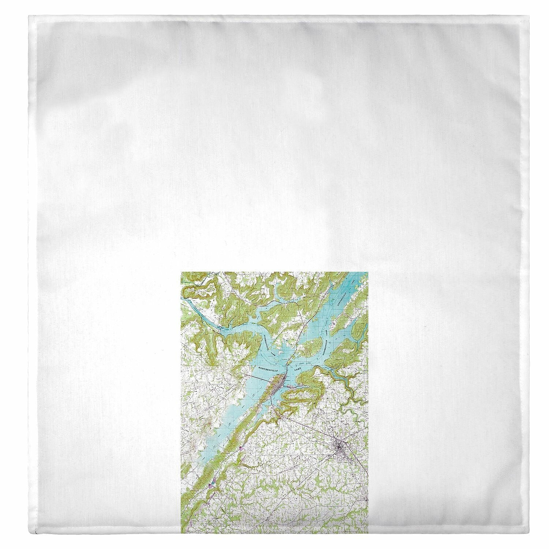 Incredible Skyler Lake Guntersville Al Nautical Map Hand Towel Pdpeps Interior Chair Design Pdpepsorg