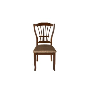 Jarvis Solid Wood Dining Chair (Set of 2) by Alcott Hill