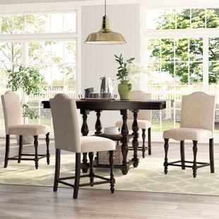 Foster 5 Piece Counter Height Dining Set