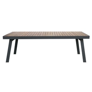 Lucian Solid Wood Dining Table by Wrought Studio
