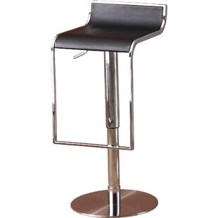 Lalani Adjustable Height Swivel Bar Stool..